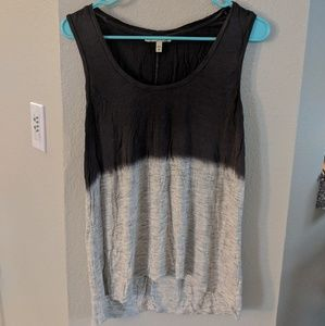 Dual colored tank top